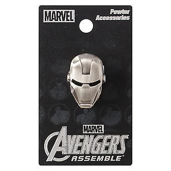 PIN-Marvel-Iron man-hoofd metalen nieuwe speelgoed geschenken gelicentieerd 67976
