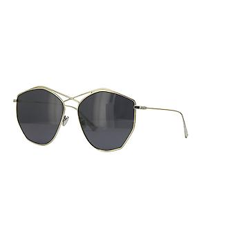 Dior Stellaire 4 3YG/IR Light Gold/Grey-Blue Sunglasses