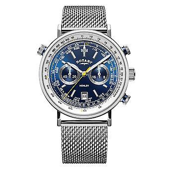 Rotary GB05235-05 Hombres's Reloj de pulsera Henley Chronograph