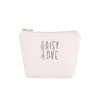 Jewelcity Womens/dames Daisy liefde grote make-up tas