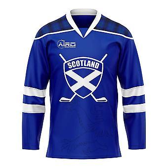 Scotland Home Ice Hockey Shirt