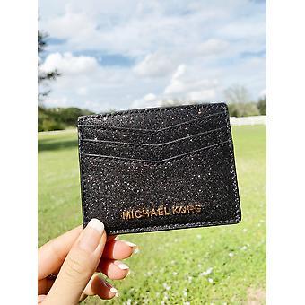 مايكل كورز جيفتابليس بطاقة كبيرة حامل الأسود بريق
