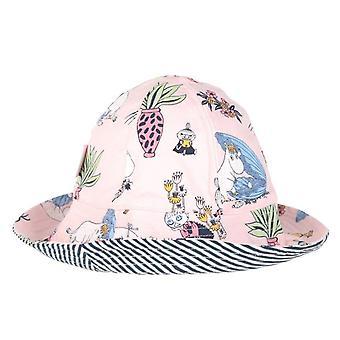 Moomin parel hoed roze 52/54