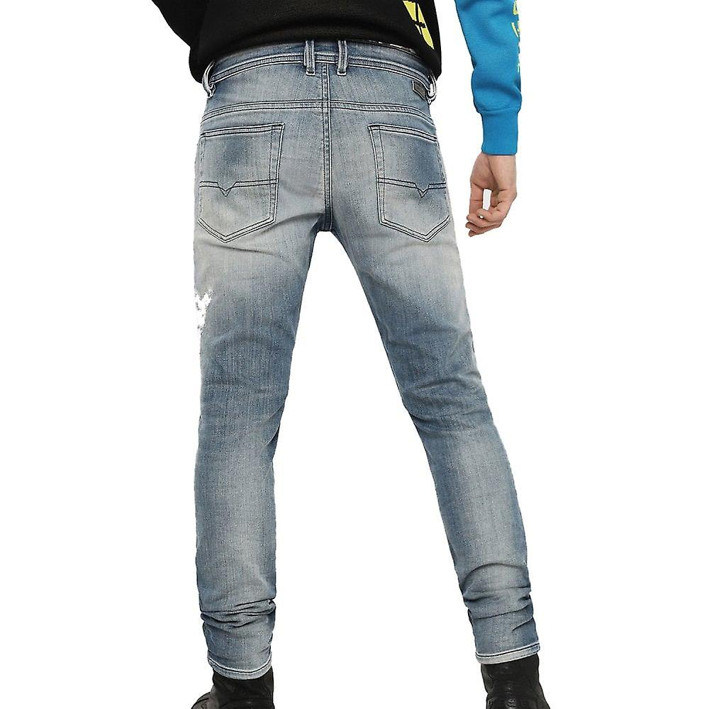 Diesel Thommer T Sweat Stretch Distressed Jeans