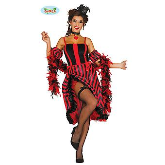 CAN CAN saloon dancer costume for ladies of Wild West Carnival