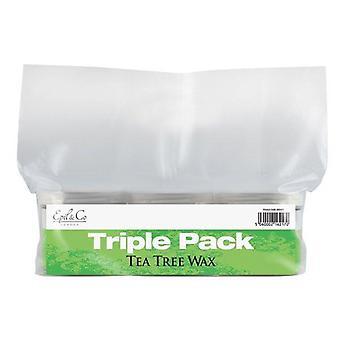 Deo epil & co tea tree wax triple