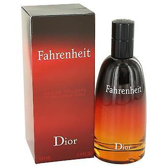 Fahrenheit eau de toilette spray by christian dior 413209 100 ml