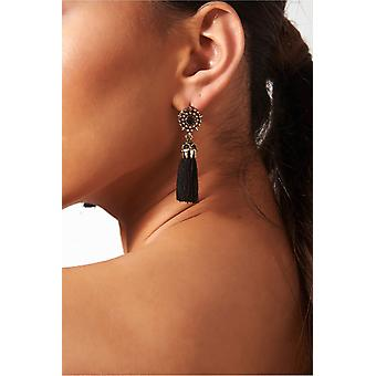 Koko Jewel Tassel Earrings
