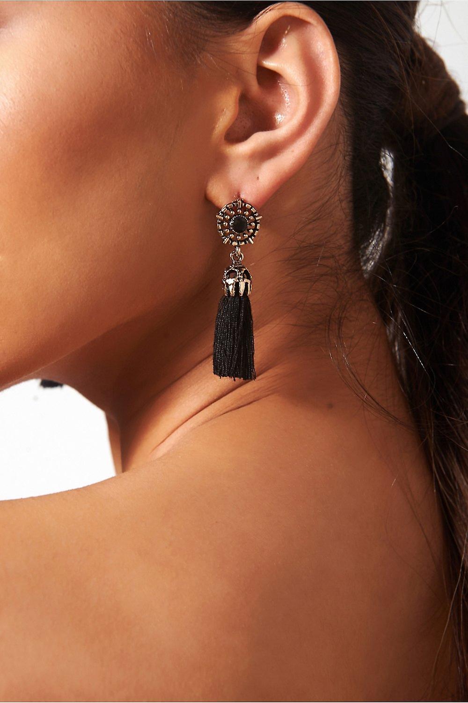 Koko Jewel Tassel Earrings
