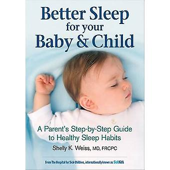 Better Sleep For Your Baby  Child by Weiss & Shelly K