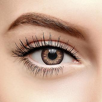 Brown Tri Tone Colored Contact Lenses (30 Day)