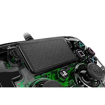 Nacon Compact Controller para PlayStation 4 PS4 - Verde claro