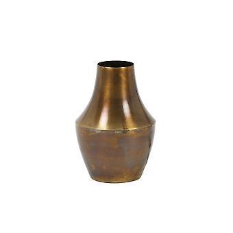 Lys & Levende Vase Deco 12x17cm Vodia Flammende Bronse