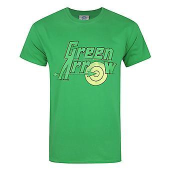 Green Arrow Logo Miesten's T-paita