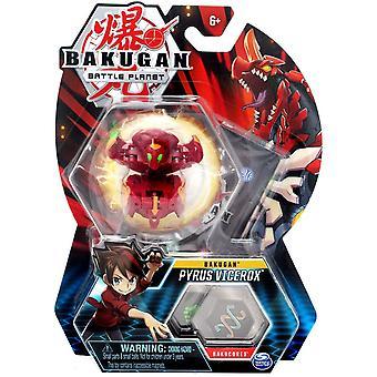 Core Bakugan 1 Pack 2 Inch Figure Pyrus Vicerox