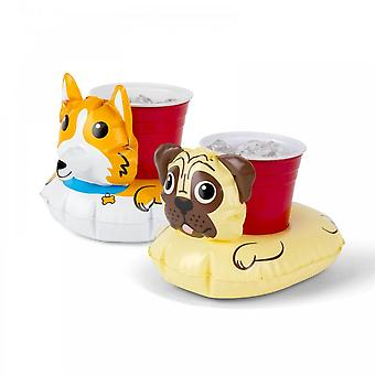 BigMouth Inc. Dog Inflatable Beverage Boats