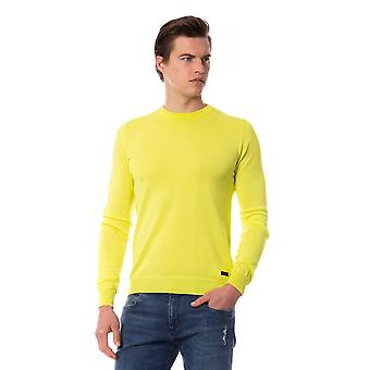Yellow Trussardi Man Pullover