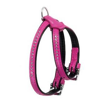 Karlie Flamingo Harness ART Leather Plus Pink
