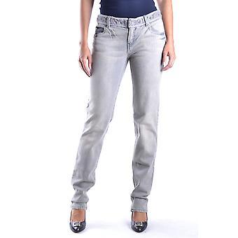 Mcq Door Alexander Mcqueen Ezbc053076 Women's Grey Cotton Jeans