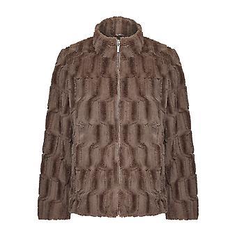 Jaqueta de pele falsa TIGI