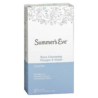 Summer's eve douche, extra cleansing vinegar & water, 2 pk, 4.5 oz