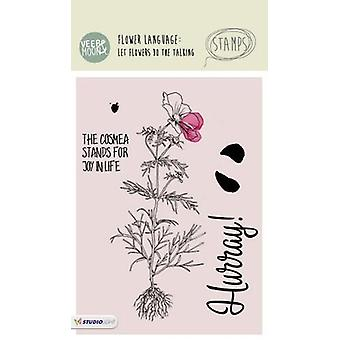 Studio Light A6 Clear Stamp - Veer & Moon - Number 07