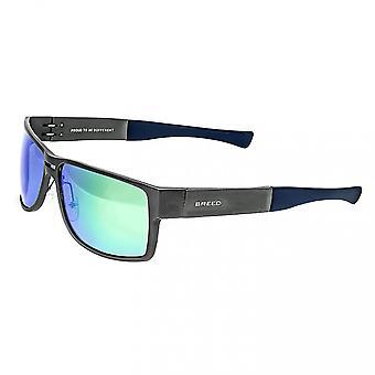 Vrh po Stratus hliníkové polarizované slnečné okuliare-Gunmetal/Green