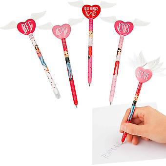 TOPModel Angel Ink Pen With Heart & Wings BFF Kiss Love Best Friends