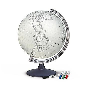 Blank World Globe (Supplied with 4 Fibre Pens)