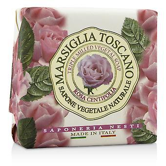 Marsiglia toscano triple jabón vegetal molido rosa centifolia 200063 200g/7oz