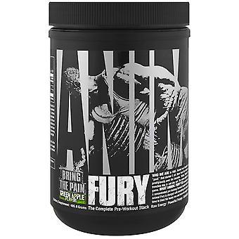 Suplemento dietético Universal Nutrition Animal Fury - Manzana Verde - 30 Porciones