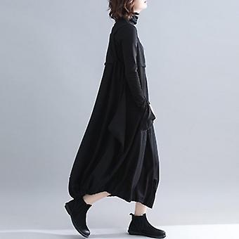 Sleeveless  Oversize Suspender Jumpsuit Wide Leg