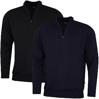 Ping Collection Mens 2020 Drew 1/2 Zip Thermal Stretch Golf Sweater