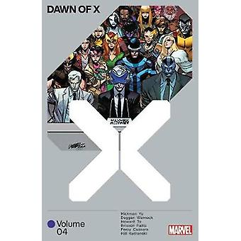 Dawn Of X Vol. 4 by Jonathan Hickman - 9781302921590 Book