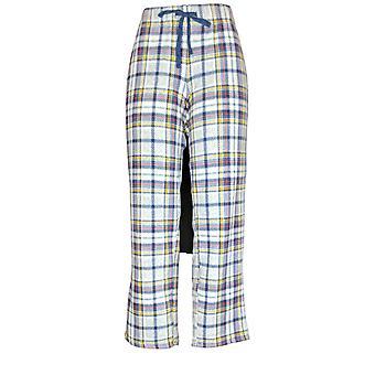Cuddl Duds Women's Petite Pajama Pants Fleecewear Novelty Blue A371298