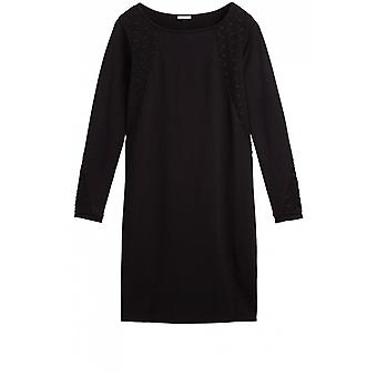 Sandwich Clothing Black Shift Dress