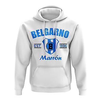 クラブ アトレティコ ベルグラノ 確立 サッカー フーディ (ホワイト)