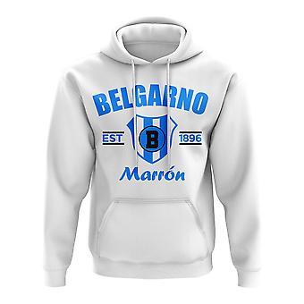 Club Atletico Belgrano Etablerad Fotboll Hoody (Vit)
