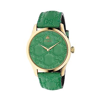 Gucci YA1264099 G-Timeless Ladies Watch - Green