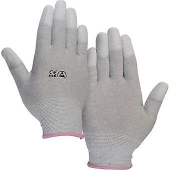 TRU COMPONENTS EPAHA-RL-L ESD glove finger-tip coating Size: L Polyamide
