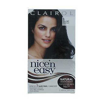 Clairol Nicen Easy Permanent Hair Colour Natural Black