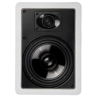 MAGNAT interiör IWP 82, 2 vägs högtalare, 80/140 watt Max vit, 1 st, B-stock