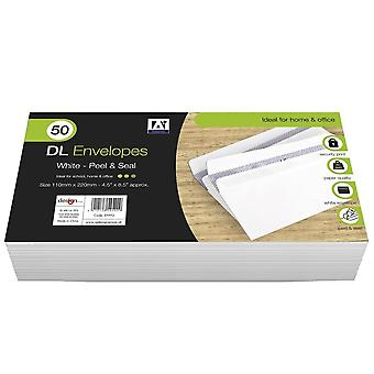 Anker DL Peel & Seal Envelopes (Pack of 50)