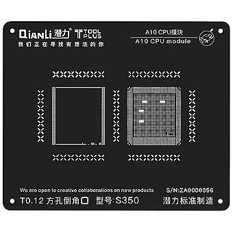 QianLi BGA Stencil Template - A10 CPU Module - iPhone 7 - S350