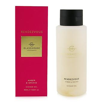 Glasshouse Shower Gel - Rendezvous (Amber & Orchid) 400ml/13.53oz