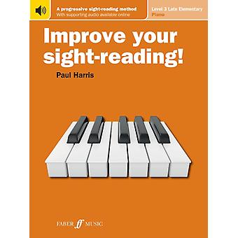 Improve Your SightReading Level 3 US EDITION by By composer Paul Harris