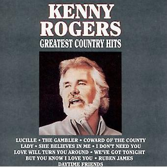 Kenny Rogers - Greatest Country Hits [CD] USA import