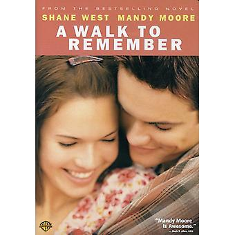 Walk to Remember [DVD] USA import