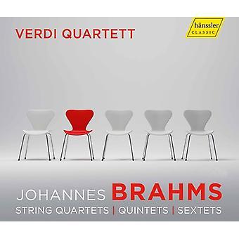 Brahms / Voss / Benda - String Quartets [CD] USA import