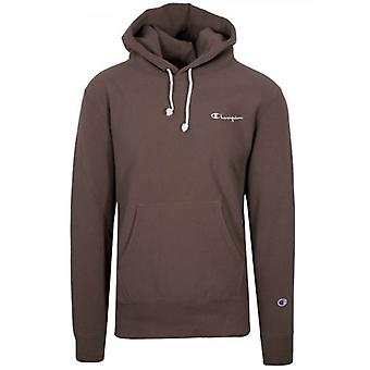 Champion Reverse Weave Aubergine Hooded Sweatshirt